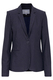 b.young RISLA PINSTRIPED BLAZER 20804756