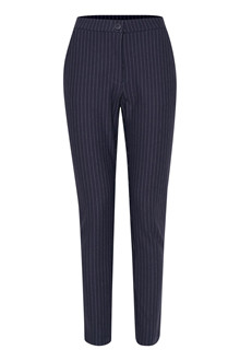 b.young RISLA PINSTRIPED BUTTON PANT 20804757