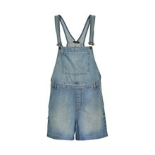 SOAKED IN LUXURY DESSY DUNGAREE SHORTS 30401020