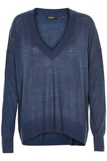 SOAKED IN LUXURY MARELLA V-NECK JUMPER