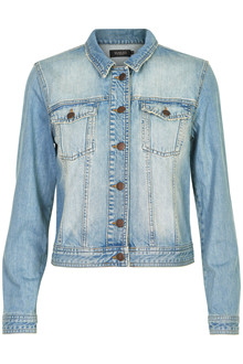 SOAKED IN LUXURY CLAYTON JEANS JACKET