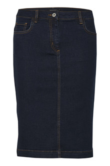 SOAKED IN LUXURY COLLIN DENIM NEDERDEL