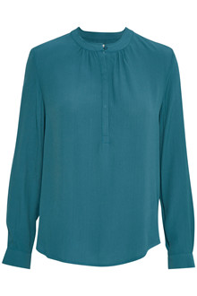 SOAKED IN LUXURY CATIA BLOUSE LS