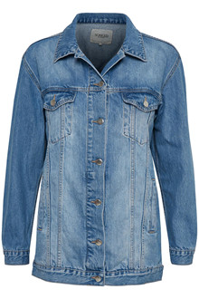 SOAKED IN LUXURY KEIRA DENIM JACKET