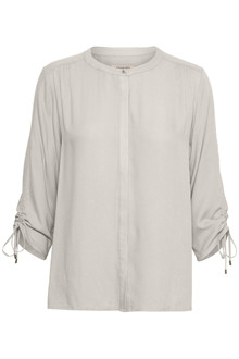 SOAKED IN LUXURY HARLOW BLOUSE 3/4 30403128 B
