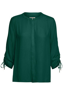 SOAKED IN LUXURY HARLOW BLOUSE 3/4 30403128 J