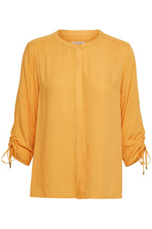 SOAKED IN LUXURY HARLOW BLOUSE 3/4 30403128 C