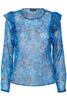 SOAKED IN LUXURY SASELINE BLOUSE 30403253 N