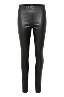 SOAKED IN LUXURY KAYLEE PU LEGGINGS 30403303