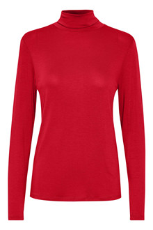 SOAKED IN LUXURY HANADI ROLLNECK BLUSE 30403340 H