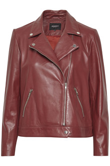 SOAKED IN LUXURY MAEVE LEATHER JACKET 30403641 B