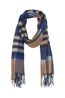 SOAKED IN LUXURY SL ROWDIE CHECK SCARF 30404236