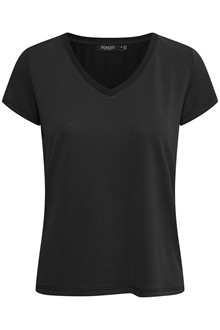 SOAKED IN LUXURY SL COLUMBINE V-NECK T-SHIRT 30404284 BL