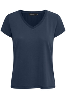 SOAKED IN LUXURY SL COLUMBINE V-NECK T-SHIRT 30404284 N