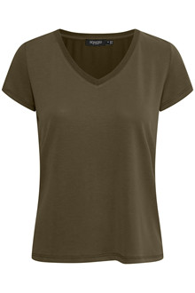 SOAKED IN LUXURY SL COLUMBINE V-NECK T-SHIRT 30404284 F