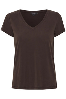 SOAKED IN LUXURY SL COLUMBINE V-NECK T-SHIRT 30404284 C