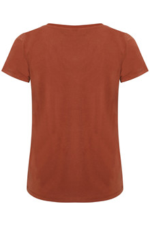 SOAKED IN LUXURY SL COLUMBINE V-NECK T-SHIRT 30404284 B
