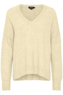 SOAKED IN LUXURY ANGEL V-NECK PULLOVER 30404300 A