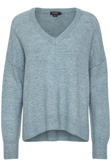 SOAKED IN LUXURY ANGEL V-NECK PULLOVER 30404300 S