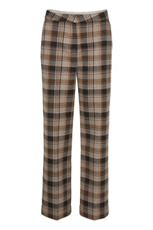 SOAKED IN LUXURY SL INDIE CHECK PANTS 30404354