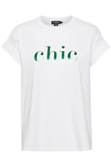 SOAKED IN LUXURY SLCHIC T-SHIRT 30404491