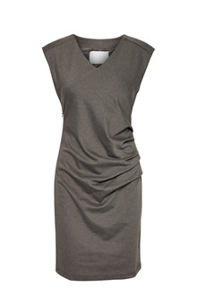 KAFFE INDIA V-NECK DRESS 501000 D