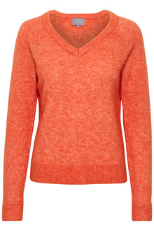 CULTURE CAMELLIA V-NECK SWEATER 50105083