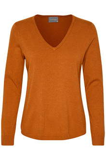 CULTURE ANNE MARIE V-NECK JUMPER 50105504 A