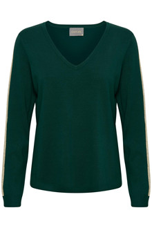 CULTURE ANNE MARIE V-NECK JUMPER 50105504 B