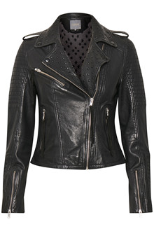 CULTURE CUASHA LEATHER JACKET 50105800