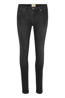 EDUCE FORTA BLACK DENIM BUKSER 50301683