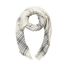 CREAM ASTRID KNIT SCARF 655522