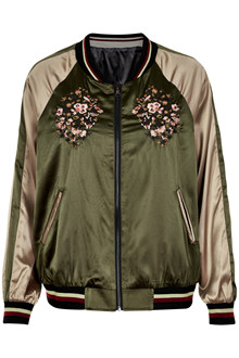CREAM THEA BOMBER JACKET 10602280