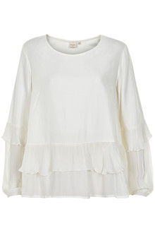 CREAM PAULINE BLOUSE 10603856