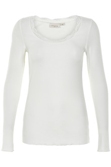 CREAM VANESSA T-SHIRT 10604407