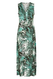 CREAM PALM LONG DRESS 10603765 F