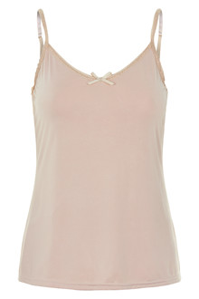 CREAM LISE SINGLET TOP 10604412