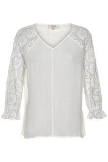 CREAM BELLE BLOUSE 10603580 C