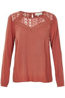 CREAM LULU BLOUSE 10601853 M
