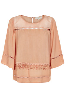 CREAM MELAYLA BLOUSE 10601958