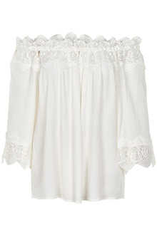 CREAM BEA LACE BLOUSE 10603171 C