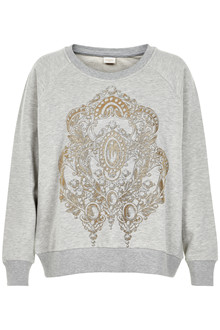 CREAM LOTUS SWEATSHIRT 10603202