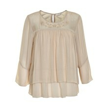 CREAM LAURA BLOUSE 10600376