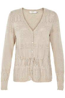 CREAM ADELE CARDIGAN 10603265 F