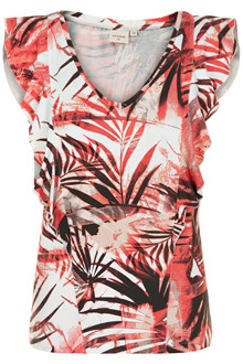 CREAM PALM T-SHIRT 10603410