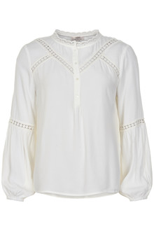 CREAM LILLY BLUSE 10650241