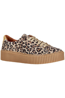 CREAM KATE LEOPARD SNEAKERS 10401235