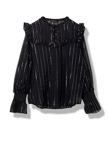 STELLA NOVA DETAILED STRIPES BLUSE DS81-4343 B