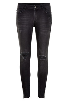 Denim Hunter CELINA ZIP TORN JEANS 10701894 B