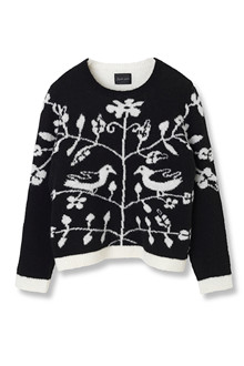 STELLA NOVA TREE OF LIFE SWEATER FB74-3092